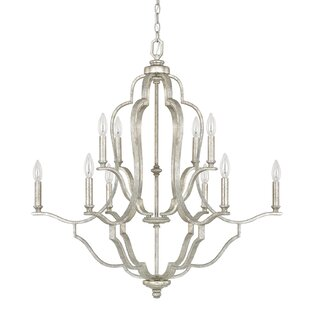Affordable Price Erroll 10-Light Chandelier By Willa Arlo Interiors