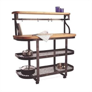Premier Kitchen Cart with Butcher Block Top by Enclume Top Reviews
