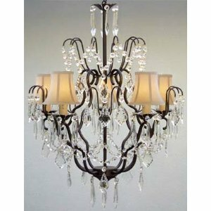 Rosdorf Park Clemence 5-Light Traditional Shaded Chandelier