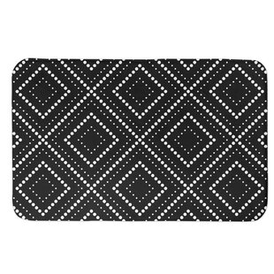 Kinkade Dotted Diamond Bath Rug