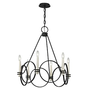 Gracie Oaks Margarito 6-Light Chandelier