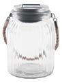 Solar LED Glass Lantern by Highland Dunes