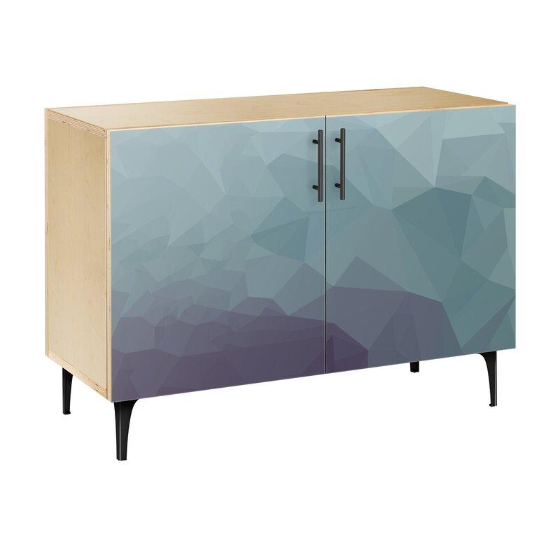 Brayden Studio Oakes 2 Door Cabinet | Wayfair