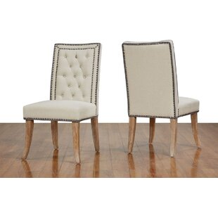 Gustin Upholstered Dining Chair (Set of 2) by Gracie Oaks