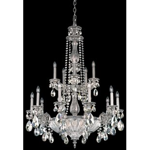 Schonbek Milano 19-Light Chandelier