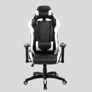 Diamond Quilted Racing Gaming Chair by eurosports