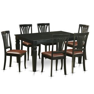 Wooden Importers Weston 7 Piece Dining Set