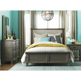 upholstered bedroom sets. Bois Upholstered Panel Configurable Bedroom Set Sets  Birch Lane