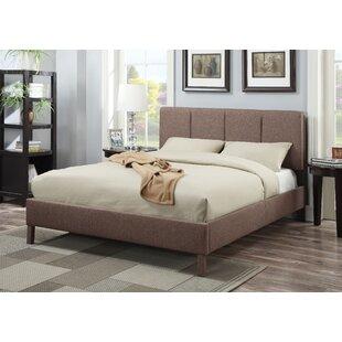 Regine Upholstered Panel Bed by Latitude Run
