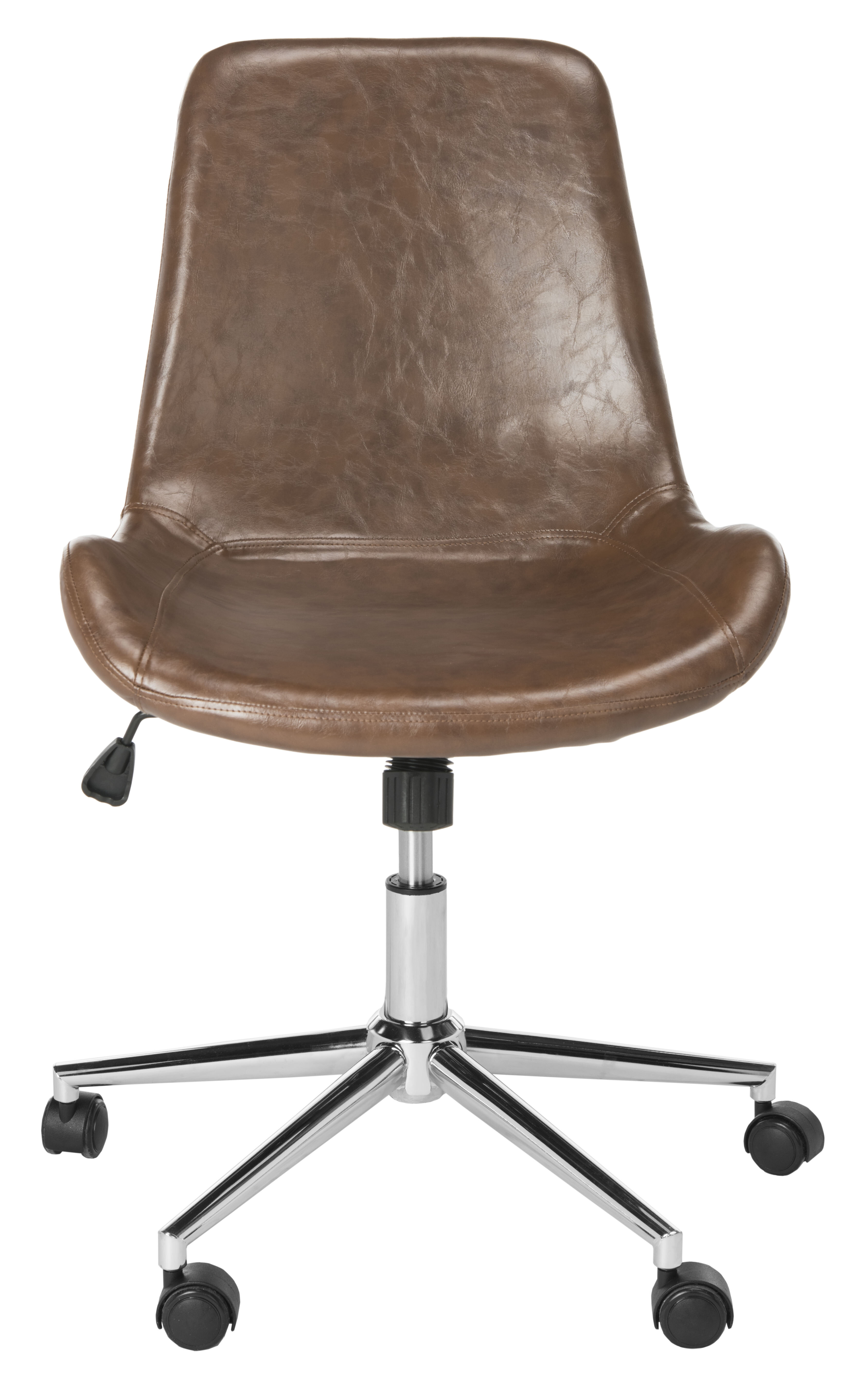Marvelous Faux Leather Task Chair Gmtry Best Dining Table And Chair Ideas Images Gmtryco