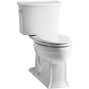 Kohler Archer 2 Piece Elongated Toilet with Aquapiston Flush Technology