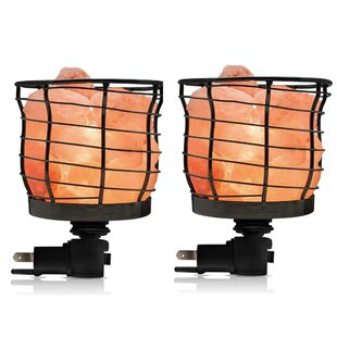 Best Reviews Himalayan Glow Basket Night Light (Set of 4) By WBM LLC