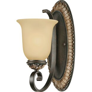 Bristol 1-Light Armed Sconce by Volume Lighting