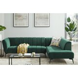 Velvet Sofa Set, Sofas,Sectional Sofa Couch, Large L Shaped Couch With Modern Velvet  Fabric For Living Room,Right Hand Facing Sofa And Chaise