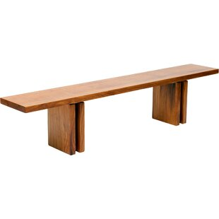 ARTLESS Occidental Outdoor Wood Bench