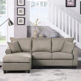 Abdalmalik 85.1 Left Hand Facing Sofa & Chaise by Red Barrel Studio®