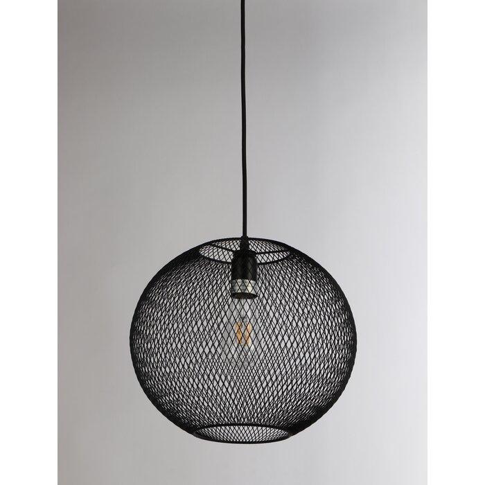 Manda 1 Light Globe Pendant