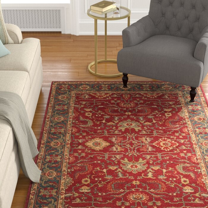 Pennypacker Red Area Rug