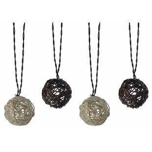 Moonrays 10 Light Globe String Lights