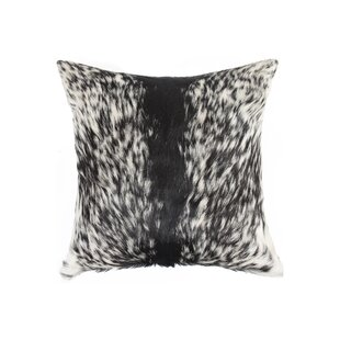 Burrell Hide Suede Throw Pillow