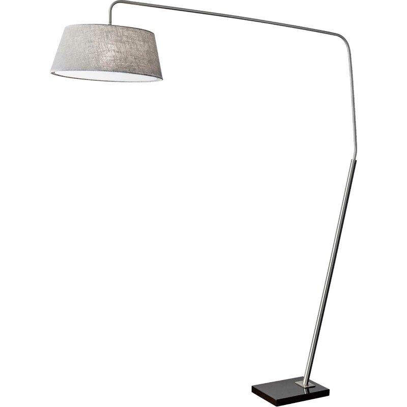 Modern Floor Lamps, Top 10 Best Floor Lamps, Ludlow Louisa Arched Floor Lamp