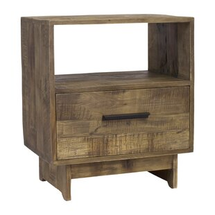Compare prices Angora 1 Drawer Nightstand by Design Tree Home