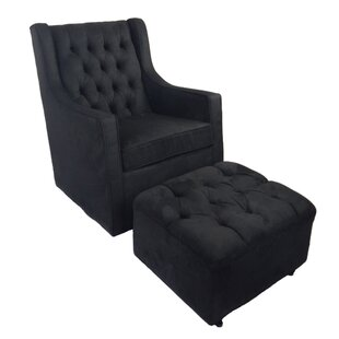Find a Keiser Micro Swivel Glider and Ottoman By Darby Home Co