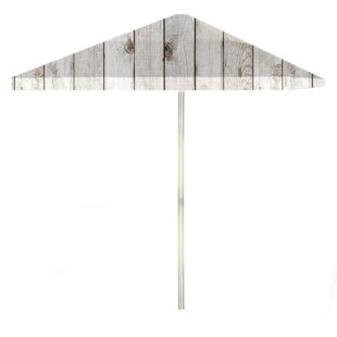 Barn 6' Square Market Umbrella by Best of Times Top Reviews