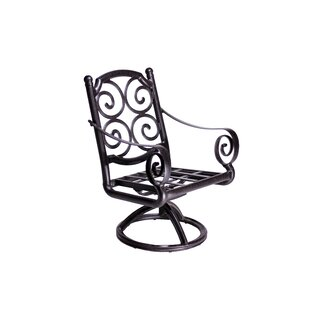 Westhampton Swivel Patio Dining Chair (Set of 2)