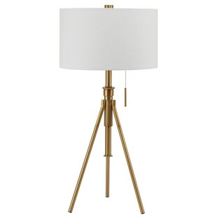 Devan Contemporary Adjustable 9 Tripod Table Lamp