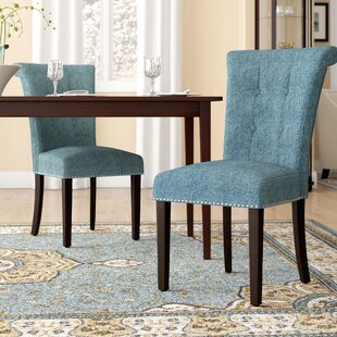 Best Price Olivier Upholstered Dining Chair (Set of 2) by Darby Home Co