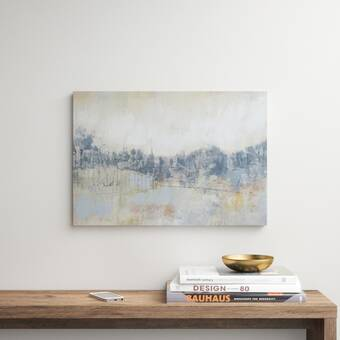 Oliver Gal Floresque Abstract Art Print