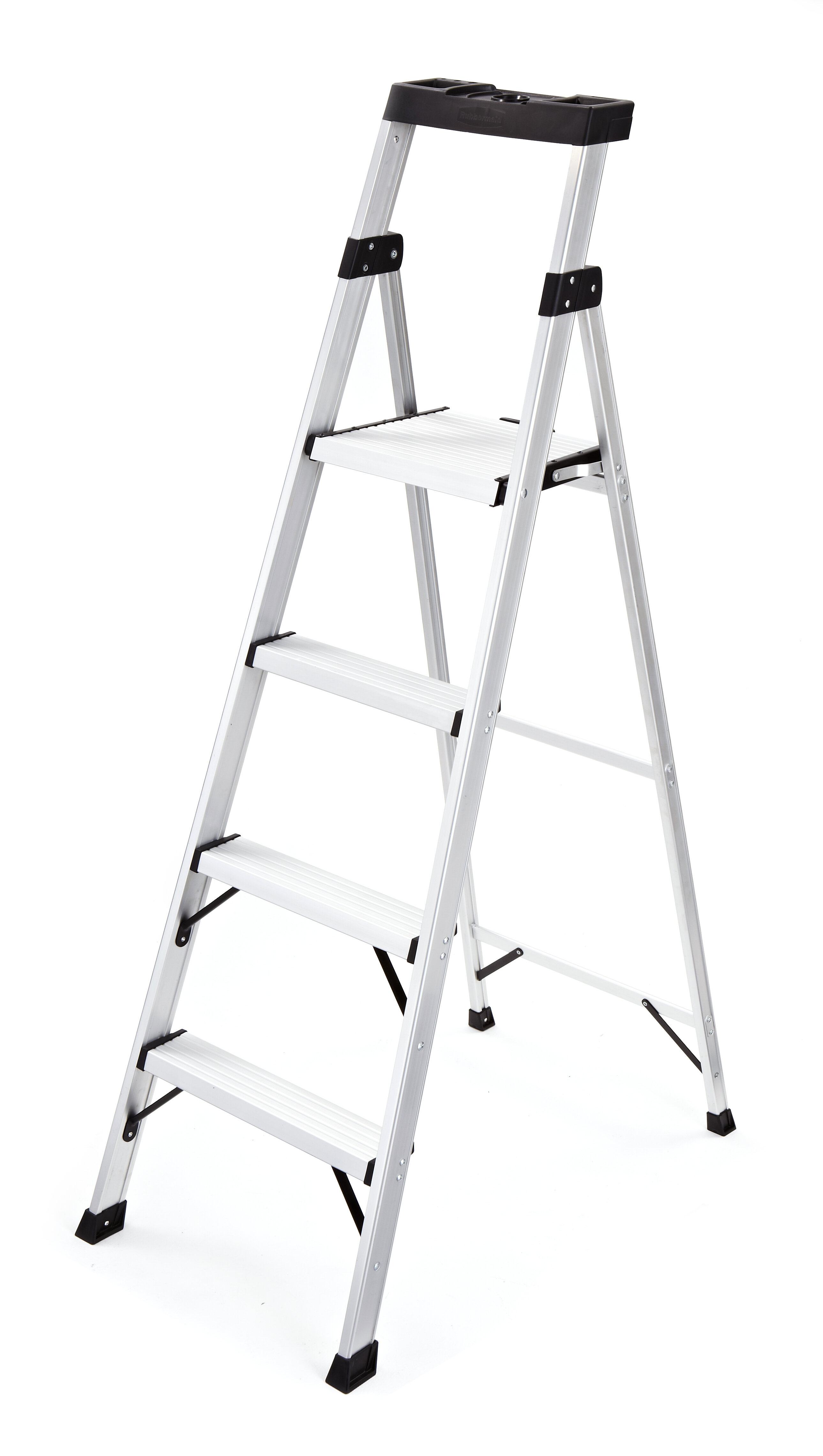 Wondrous 5 71 Ft Aluminum Step Ladder With 250 Lb Load Capacity Gamerscity Chair Design For Home Gamerscityorg