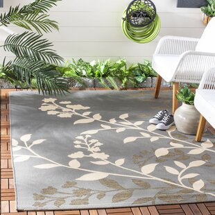 Laurel Gray/Beige Indoor/Outdoor Area Rug