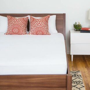 Inexpensive Jersey Fitted Hypoallergenic Waterproof Mattress Protector ByAlwyn Home