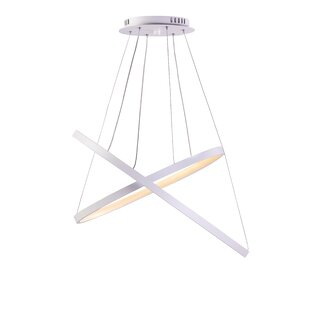 Roscoe 2-Lights Geometric Chandelier
