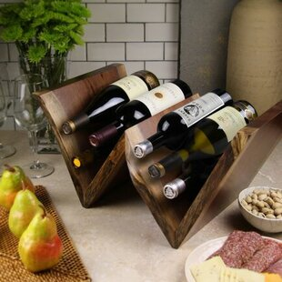 Artisan Woods 12 Bottle Tabletop Wine Rac..