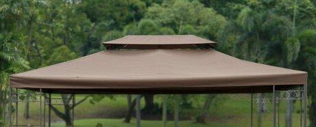 Pavillon-Ersatzabdeckung Bertha | Garten > Pavillons | Braun | Kunststoff - Polyester | Garten Living