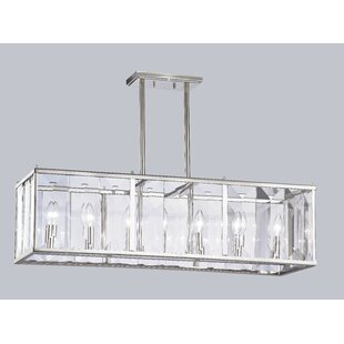 House of Hampton Tatiana 7-Light Linear Kitchen Island Pendant