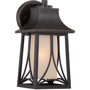 Order Stoutsville 1-Light Outdoor Wall Lantern By Darby Home Co
