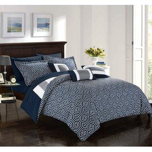 Noell 10 Piece Reversible Comforter Set