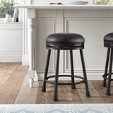 Moran Swivel 24 Counter Stool by Kelly Clarkson Home