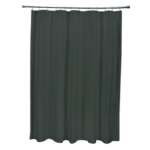 Buying Solid Shower Curtain By e by design