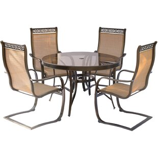 Bucci 5 Piece Outdoor Dinning Set