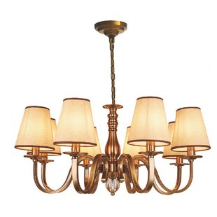 Lanora 8-Light Shaded Chandelier by Astoria Grand