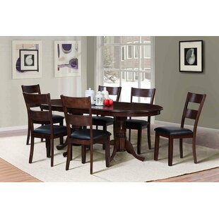 Princeton Extendable Solid Wood Dining Table by TTP Furnish