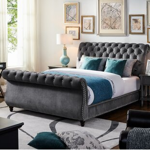 Aceves Queen Upholstered Platform Bed by Darby Home Co