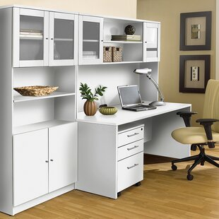 Haaken Furniture Pro X 4 Piece Desk Office Suite
