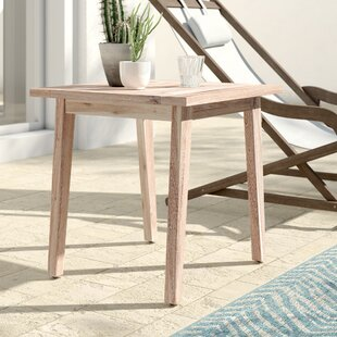 Darrin Wooden Side Table by Mistana 2019 Online