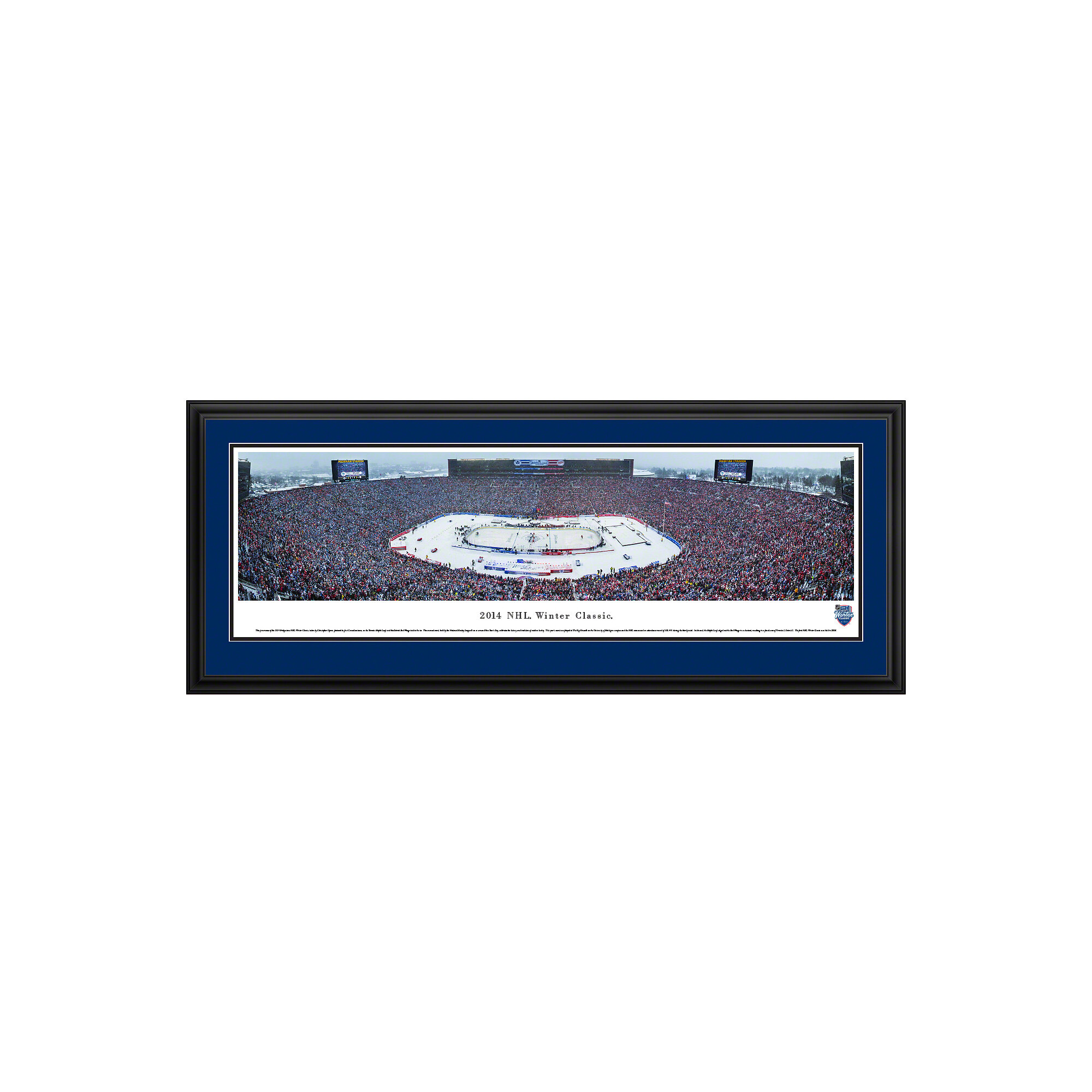 Blakewaypanoramas Nhl Winter Classic Toronto Maple Leafs By Christopher Gjevre Framed Photographic Print Wayfair